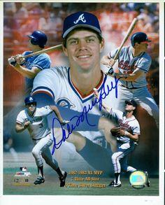 The reason I became a Braves fan....(sigh!) Dale Murphy....  ;D