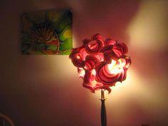 Croche e Pontos: Luminárias diferentes