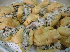 Maryam's Culinary Wonders: 7. Chicken Profiteroles