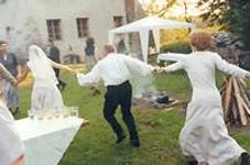 Polish wedding party