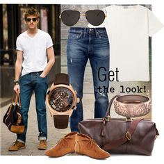 Men's fashion - Micheal Kors Wrist Watch, Levis Jeans and Fascinating Diamonds Mens Band in Rose Gold with intricate carving. Have a Look ! New Mens Fashion, Style Fashion, Fashion Outfits, Fashion Design, Fashion Tips, Levis Jeans, Mom Jeans, Michael Kors Men, Alter Ego