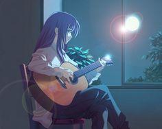imagenes de anime con guitarra - Buscar con Google
