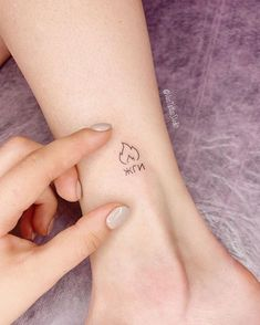We have collected 60 best small tattoo designs for you where you can find you styles and arts of your choice. Mini Tattoos, Wörter Tattoos, Word Tattoos, Finger Tattoos, Cute Tattoos, Sleeve Tattoos, Cute Little Tattoos, Cool Small Tattoos, Small Girl Tattoos