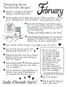 The February Art Journaling Page is ready! Click below for a downloadable PDF! Still working on the entire year's PDF… … Had to replace our Printer/Scanner/Copier this past week, …