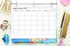 50 free printables Free printable calendar pages, binders, planner pages, goal setting sheets, and more can help you organize your life and increase productivity! Printable Calendar Pages, Printable Planner, Free Printables, Printable Stickers, College Organization, Binder Organization, Organizing Life, To Do Planner, Planner Pages