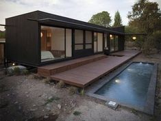 Shipping containers 365424957267577300 - Good and Simple Shipping Container Swimming Pool Ideas on Your Backyard Source by sinbadcyclops Container Home Designs, Shipping Container Swimming Pool, Shipping Container Homes, Shipping Containers, Building A Container Home, Container House Plans, Swimming Pool Designs, Swimming Pools, Kleiner Pool Design