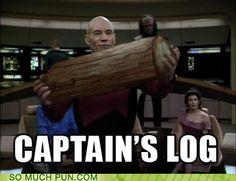 Jean-Luc Picard aka Patrick Stewart