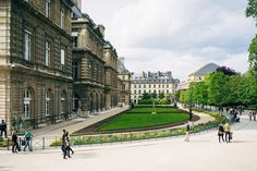 lingered upon: Jardin du Luxembourg