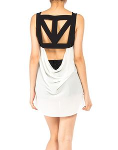Read All About It Tank : cool #cutout back detail<3