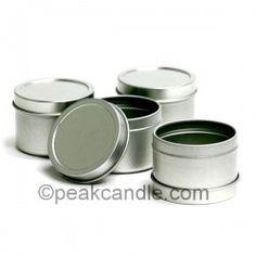 Travel Tins: 2 oz....to make the tea light holder