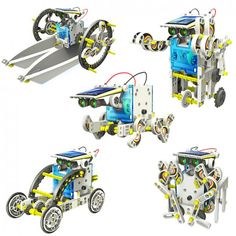 14 in 1 Educational Solar Robot Kit - $40 - National geographic. AGES 10+