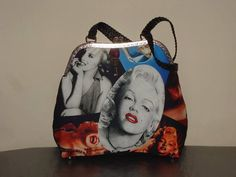 Bolso boquilla metálica Marilyn Monroe by ComplementosMolero