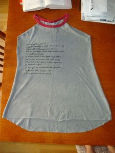 Cut up an old tshirt... I may try...