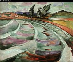 Edvard Munch (1863-1944), Norway - The Wave (1921) - http://www.adolphmenzel.org/upload1/file-admin/images/Edvard%2520Munch15.jpg