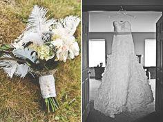 Bouquet | A Rustic Chic Wedding: Bree + Barham