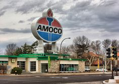 World S Largest Amoco Sign Located In St Louis Missouri