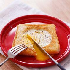 【女子必見!】卵チーズトースト