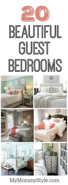 20 beautiful guest bedroom ideas