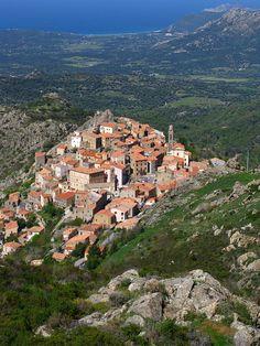 The island of Corsica.