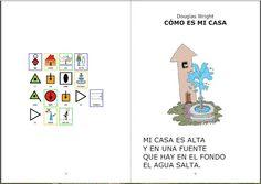 """Informática para Educación Especial: Adaptación de la poesía """"Cómo es mi casa"""" de Dougl..."""