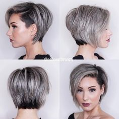 The Short Pixie Cut - 42 Great Haircuts You'll See for 2019 If you think you know pixies, think again! Find a chic and edgy pixie that will prove that not all these looks are created equal. Short Hair Undercut, Short Hairstyles For Thick Hair, Short Hair Cuts, Short Hair Styles, Pixie Styles, Long Pixie Cut Thick Hair, Short Hair With Undercut, Undercut Bob Haircut, Short Pixie Bob