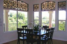 Tableaux Faux Iron Window #62