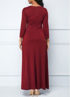 4cedbae7263 Sequin Embellished Dress and Wine Red Maxi Dress
