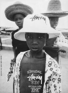 Stussy West Africa chapter by David Dobson Eleven Paris, Stussy Wallpaper, Editorial Photography, Fashion Photography, White Photography, Photo Portrait, We Are The World, Old Ads, West Africa