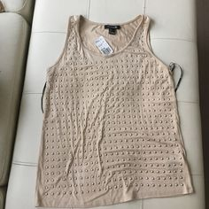 Cute Studded Tank Top Never worn ready for a new home Forever 21 Tops Tank Tops
