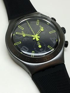 Swatch Watch Chrono Ray Of Light Black YCM4000 by ThatIsSoFunny