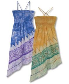 hippie sun dresses...my kinda sundress