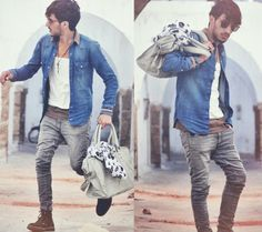 Street Style for Men by Mohcine Aoki's Lookbook