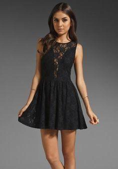 Lulu & lemons dress in lulu-black! bonito!!