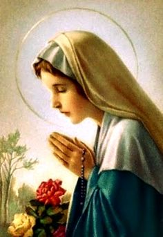 Blessed Mary Virgin Mary...Pray For Us.