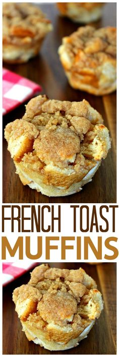 Easy French Toast Muffins