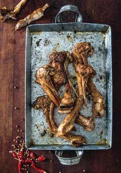Αρνίσια παϊδάκια με μπαχαρικά στο τηγάνι