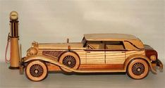 how to make wooden miniature car Wooden Toy Cars, Wood Toys, Miniature Cars, Cool House Designs, Woodworking Tips, Wood Turning, Metal Art, Wood Crafts, Antique Cars