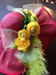Hats for opening day or the Kentucky Derby, Sandra Nicole Designs can custum make one just for you!