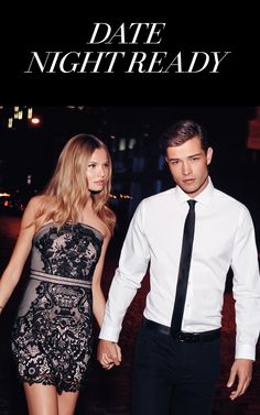 Finding the perfect date night look is serious business. Picking the perfect outfit that works for the event and showcases your style is key. The best place to start is with a personalized little black dress. Showcase your flirty and sophisticated style with curve-kissing silhouettes and feminine details. A strappy pair of heels will ensure you put your best foot forward. Add your signature scent and your date won't be able to resist!