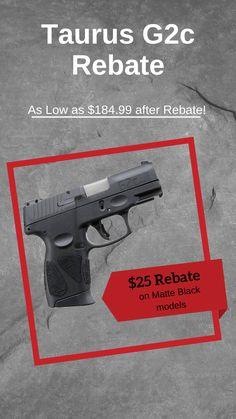 Shopping for a new concealed carry handgun? The Taurus G2c 9mm Handgun is an excellent option. This concealed carry handgun is perfect for every day carry all year long. #handgun