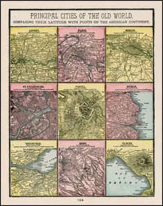 185 Best Olde City Maps images