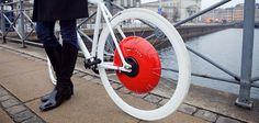 The Copenhagen Wheel : la roue qui transforme votre vélo traditionnel en vélo électrique