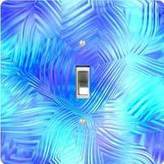 "Rikki KnightTM Glassy Blue Swirls - Single Toggle Light Switch Cover by Rikki Knight. $13.99. Glossy Finish. Masonite Hardboard Material. For use on Walls (screws not included). 5""x 5""x 0.18"". Washable. The Glassy Blue Swirls single toggle light switch cover is made of commercial vibrant quality masonite Hardboard that is cut into 5"" Square with 1'8"" thick material. The Beautiful Art Photo Reproduction is printed directly into the switch plate and not decoupaged which make ..."