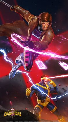 Cyclops and Gambit