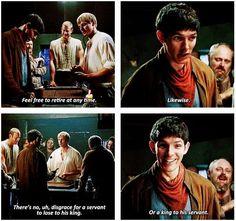 Merlin cheated!!