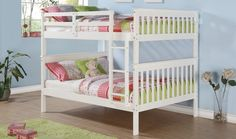 Portia Twin Over Twin Bunk Bed With Trundle Terrasse Pinterest