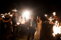 www.morgancreekwinery.com #outdoorwedding #winerywedding #vineyard #vineyardwedding #wedding #bride #alabamaweddings #sparklers #reception