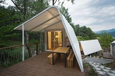 ArchiWorkshop, Glamping on the Rock, Ga-Pyung