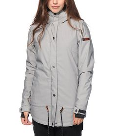 Function meets street-inspired styling this this tailored fit snow jacket that is made with a waterproof EXOTEX layered shell that protects against the elements and a poly insulated fill for all-day warmth and comfort.