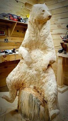 Одноклассники Chainsaw Wood Carving, Wood Carving Art, Wood Carvings, Driftwood Sculpture, Sculpture Clay, Elephant Photography, Cottage Art, Wood Carving Patterns, Tree Carving